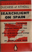 Searchlight on Spain by Katharine Marjory…