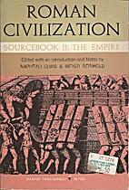 Roman Civilization, Sourcebook II: The…