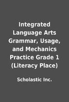 Integrated Language Arts Grammar, Usage, and…