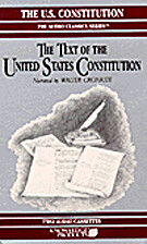 The U.S. Constitution. The Constitutional…
