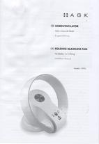 AGK Bordventilator Uden roterende blade,…