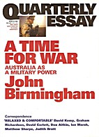 A time for war : Australia as military power…