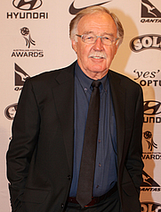 Author photo. George Negus at the 2011 Australian Football Awards (4 October 2011).