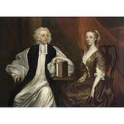 Author photo. Robert and Katherine Clayton, circa 1740, by James Latham. Wikimedia Commons.