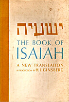 The Book of Isaiah by H. L. Ginsberg