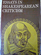 Essays in Shakespearean criticism by James…
