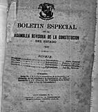 Boletín especial de la Asamblea Revisora…