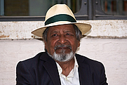 Author photo. Portrait of V. S. Naipaul, taken during the International Literature Festival at the Basilica di Massenzio in the Foro Romano, Rome, Italy, 2008. &quot;V. S. Naipaul - Photo Gallery&quot;. Nobelprize.org. 15 Oct 2011 <a href=&quot;http://www.nobelprize.org/nobel_prizes/literature/laureates/2001/naipaul-photo.html&quot; rel=&quot;nofollow&quot; target=&quot;_top&quot;>http://www.nobelprize.org/nobel_prizes/literature/laureates/2001/naipaul-photo.h...</a>