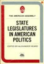 State legislatures in American politics by…