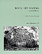 Rock Art Papers Volume 12 (San Diego Museum…