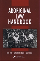Aboriginal law handbook by Shin Imai