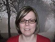 Author photo. Michelle Scott, fantasy and horror writer