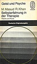 Selbsterfahrung in der Therapie : Theorie…