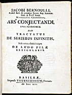 Ars conjectandi by Jakob Bernoulli