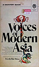 Voices of Modern Asia by Dorothy Blair…