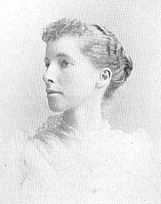 Author photo. Jessie Fremont O'Donnell (works published in the late 1800s), Buffalo Electrotype and Engraving Co., Buffalo, N.Y.