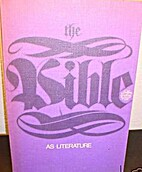 The Bible as Literature by A. C. Capps