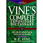 An Expository Dictionary of New Testament…