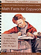 Math Facts for Copywork by Sandi Queen