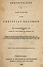 Demonstration of the Truth of the Christian…