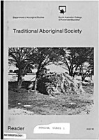 Traditional Aboriginal Society by Department…