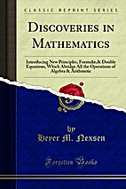 Discoveries in Mathematics: Introducing New…