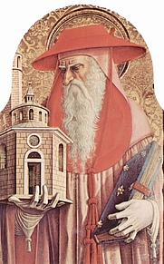 Author photo. St. Jerome as a Cardinal by Carlo Crivelli