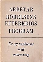 Arbetarrörelsens Efterkrigsprogram
