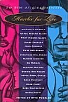 Murder for Love: Murder for Women by Otto…