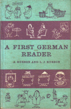 First German Reader, A by A. Russon