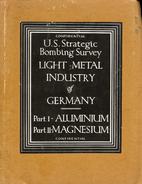 USSBS European War # 20 : Light Metal…