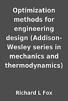 Optimization methods for engineering design…