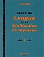 Cours de langue et de civilisation…