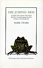 The jumping frog : in English, then in…