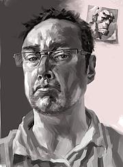 Author photo. Self-portrait