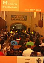 Memòria d'activitats by Fundación…