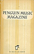 The Penguin Music Magazine Volume 5 by Ralph…