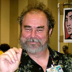 Author photo. Photo of Michael Kaluta taken by Todd Klein at 2003 San Diego Comic Con