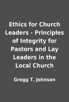 Ethics for Church Leaders - Principles of…