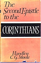 The Second Epistle to the Corinthians: A…