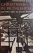 Christmas in Bethlehem and Holy Week at…