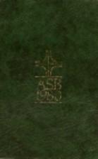 The Alternative Service Book 1980 by Church…
