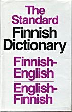 The Standard Finnish-English,…