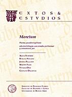 Moretum by Pseudo-Virgilio
