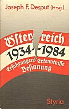 Österreich 1934-1984. Erfahrungen,…