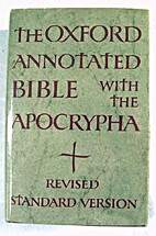 The Oxford annotated Bible, with the…
