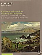Bonham's - Californina and American…