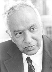 Author photo. Subrahmanyan Chandrasekhar [credit: University of Chicago]