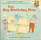 THE BIG BIRTHDAY BOX (Pictureback Readers)…