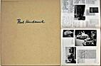 Paul Hindemith : Zeugnis in Bildern by Paul…